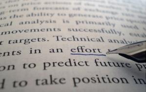 """Hasta en el diccionario """"esfuerzo"""" y """"dedicacación"""" van antes que """"éxito"""""""